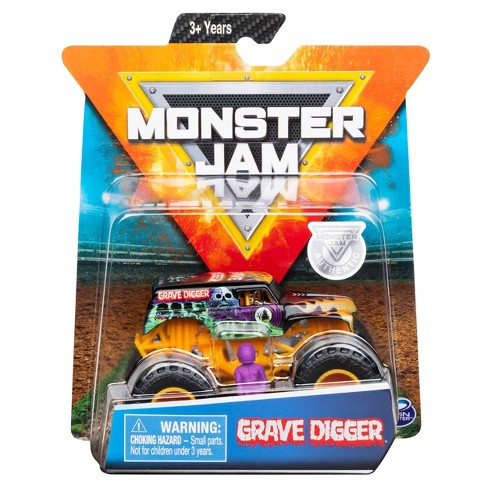 Monster Jam 1:64 Single Pack Assorted - Grave Digger S6 - image 1 of 4