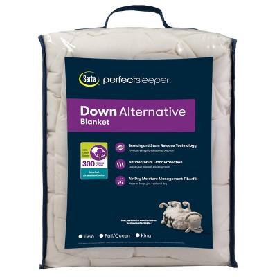 300 Thread Count Down Alternative Bed Blanket - Serta