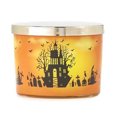Lakeside Halloween Jar Candles - 2-Wick Spooky Indoor Decoration