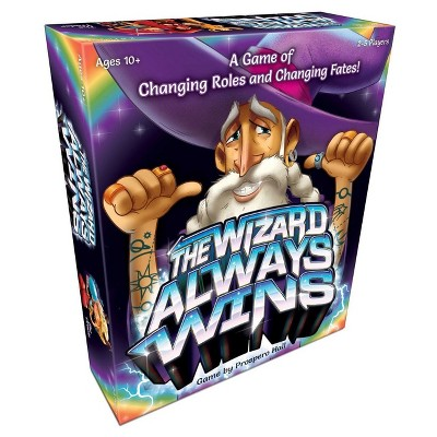 The Wizard Always Wins Board Game