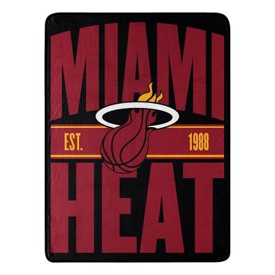 NBA Miami Heat Micro Throw Blanket
