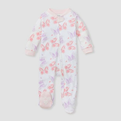 Burt's Bees Baby® Baby Girls' Butterfly Buddies Sleep N' Play - Pink 0-3M
