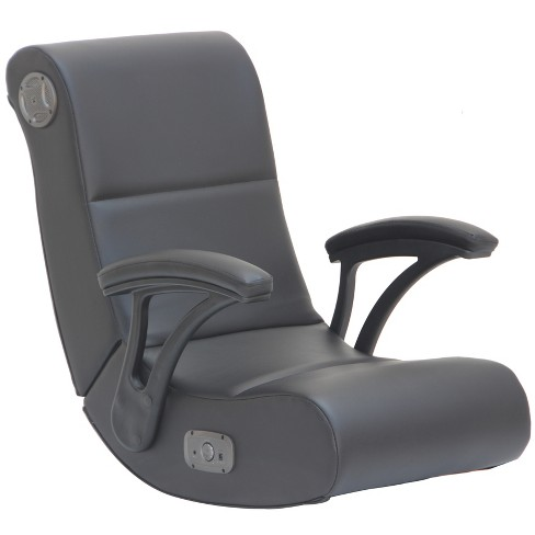 Gaming Rocking Chair with Bluetooth Audio System and Arms Black - X Rocker - image 1 of 5