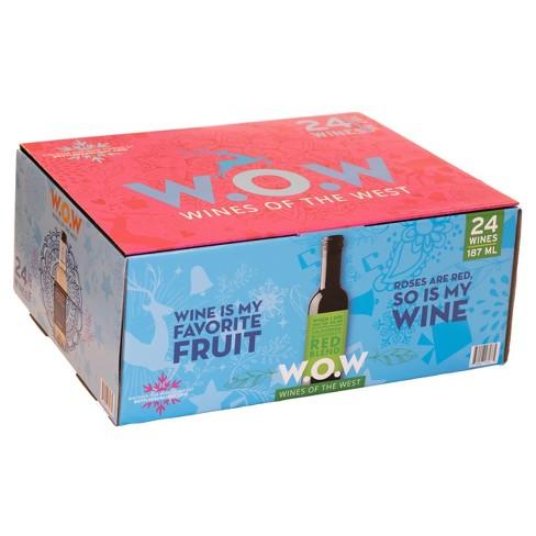 W.O.W Holiday Wine Advent Calendar - 24pk/187ml Bottles - image 1 of 4