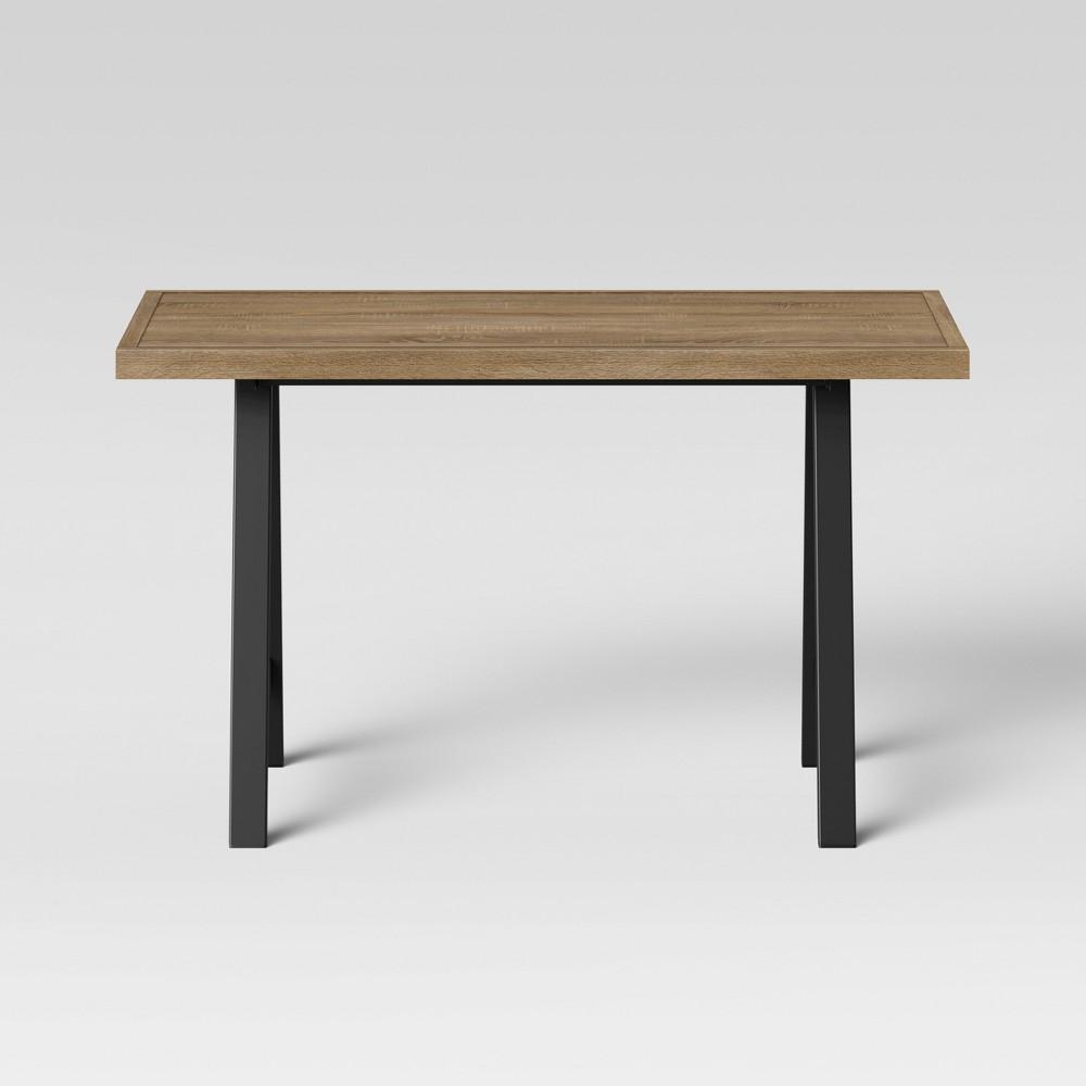 Taft Work Table - Threshold, Brown