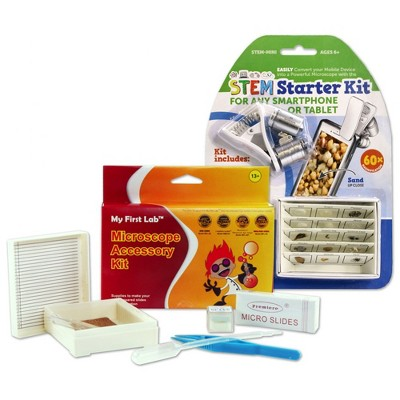 My First Lab STEM Starter Kit and Microscope Accessories