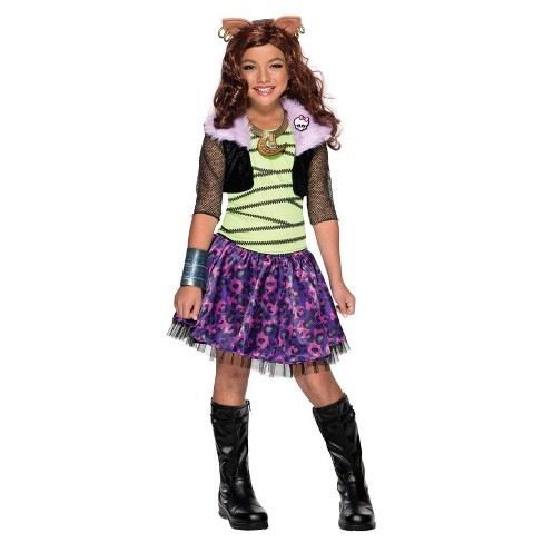 Girls Monster High Clawdeen Wolf Costume - image 1 of 1