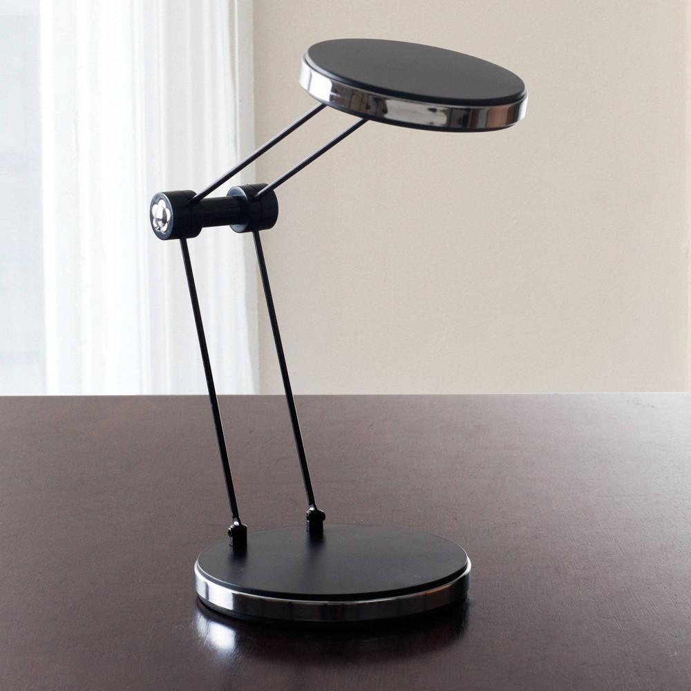 Led Foldable Desk Lamp Usb by Lavish Home, Black