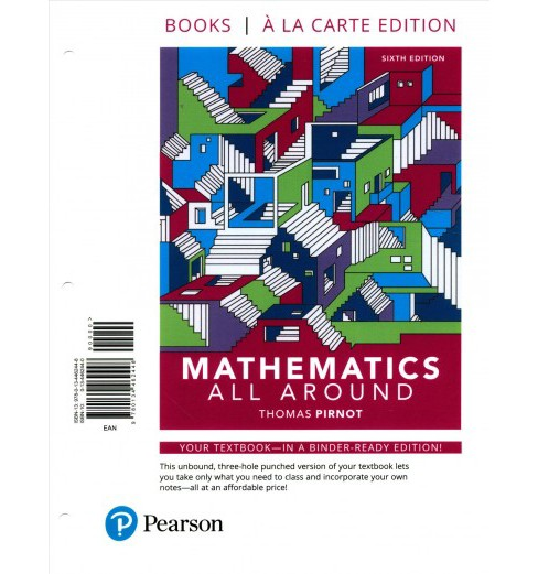 Mathematics All Around -  by Thomas L. Pirnot & Margaret H. Moore & Timothy D. Britt (Paperback) - image 1 of 1