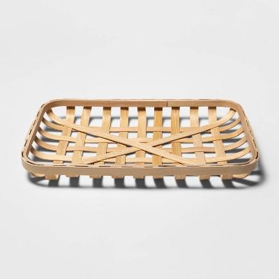 Large Harvest Tobacco Decorative Basket - Spritz™