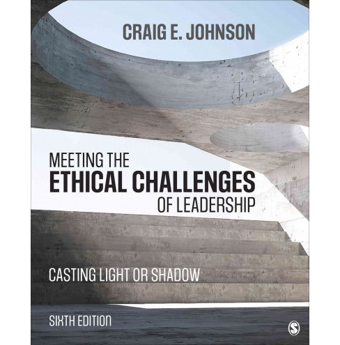 Meeting the Ethical Challenges of Leadership : Casting Light or Shadow (Paperback) (Craig E. Johnson) - image 1 of 1