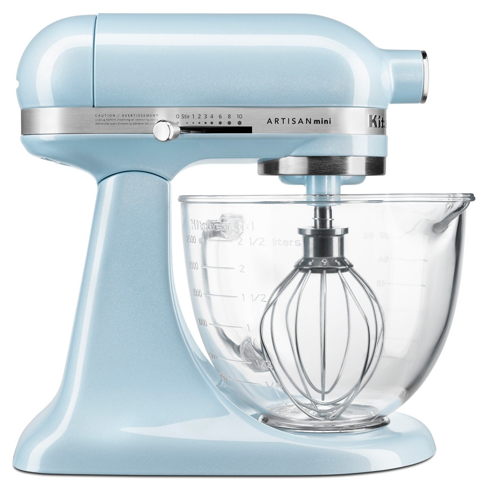 KitchenAid 3.5qt Artisan Mini Design Series Tilt-Head Stand Mixer Sea Shimmer – KSM3306XSH 53752426