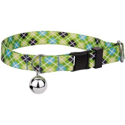 Country Brook Petz® Margarita Argyle Cat Collar