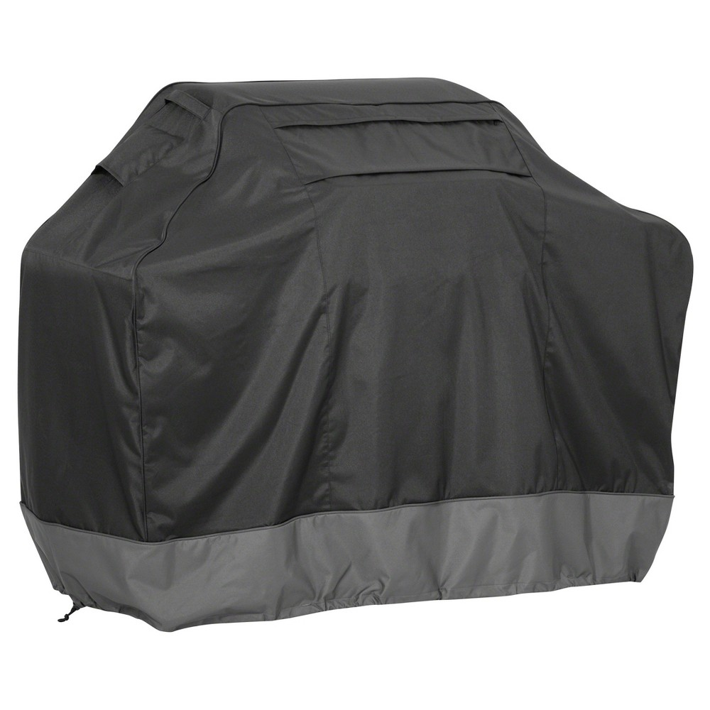 Veranda Fadesafe Bbq Grill Cover – Shadow – Classic Accessories, Black 52101332
