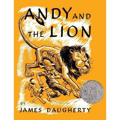 Andy and the Lion - (Picture Puffin Books) by  James Daugherty (Hardcover) - image 1 of 1