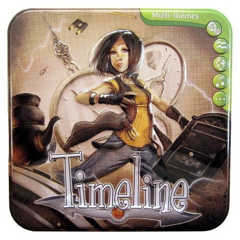 Timeline Multi-Themes Educational Card Game - image 1 of 1