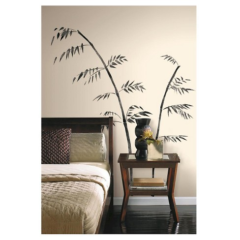 RoomMates Painted Bamboo Peel & Stick Giant Wall Decal - image 1 of 2