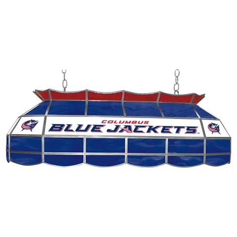 Columbus Blue Jackets Stained Glass Lighting Fixture - 40 inch - image 1 of 1