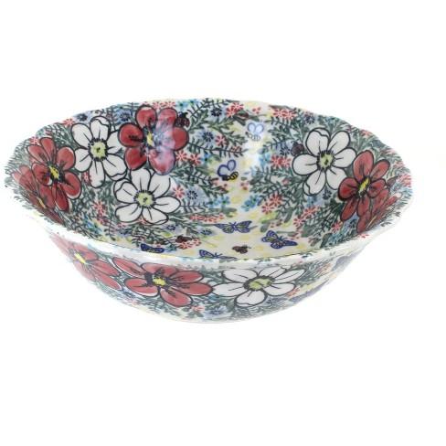 Blue Rose Polish Pottery Isabella Large Serving Bowl - image 1 of 1