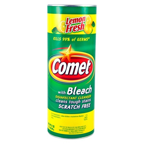 Comet Lemon Fresh Disinfectant Cleanser with Bleach 21 oz - image 1 of 1