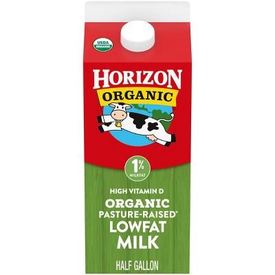 Horizon Organic 1% Milk - 0.5gal