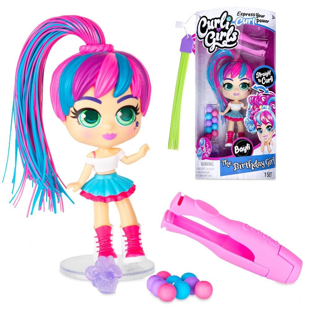 Curligirl Doll Bayli The Birthday Girl