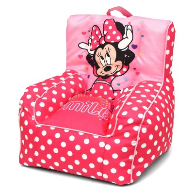 Minnie Mouse Toddler Bean Bag Chair with Handle - Disney