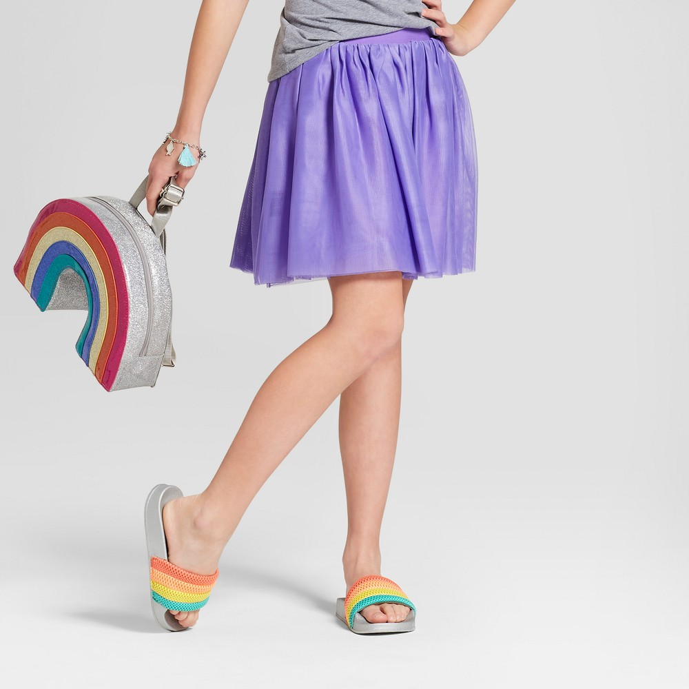Girls' Tutu Skirt With Waist Band - Cat & Jack Purple M