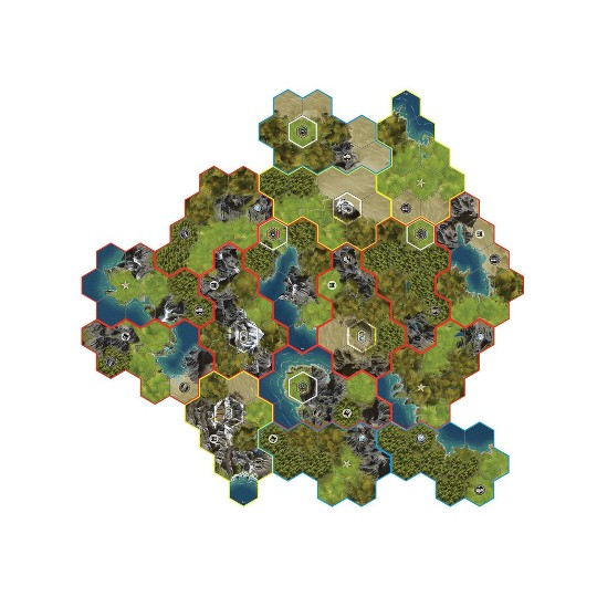 Fantasy Flight Games Sid Meier's Civilization: A New Dawn Board Game image number null