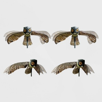 "2pk 23"" Prowler Owl Decoy With Wings - Bird-X"