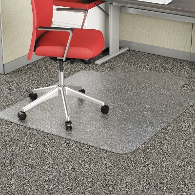3'x4' Rectangle Solid Office Chair Mat Clear - Alera