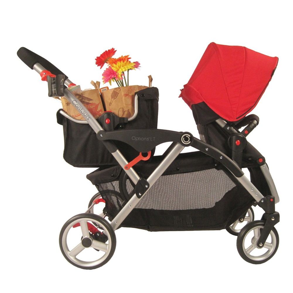 Image of Contours Shopping Basket Stroller Accessory - Black