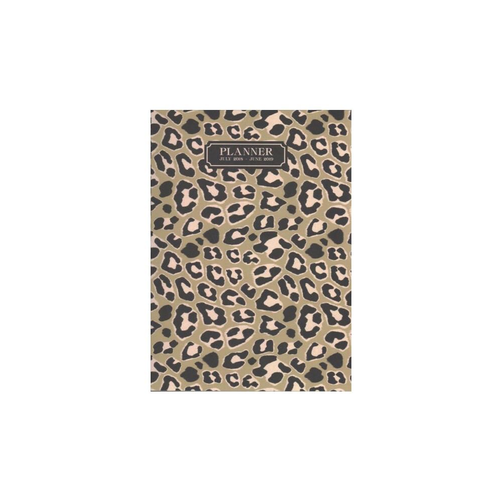 Leopard Medium Weekly / Monthly 2018-2019 Planner - (Paperback)