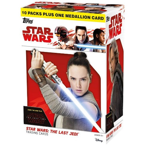 Star Wars Journey to The Last Jedi 9 Card Picture Set
