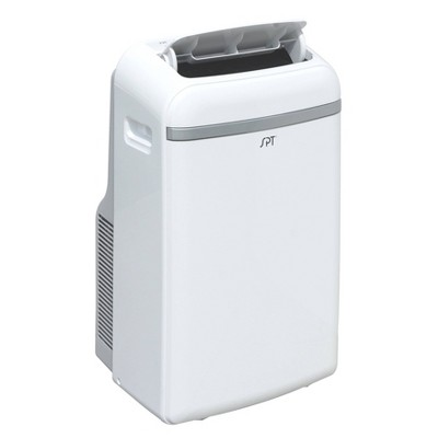 Sunpentown 12000-BTU Portable Air Conditioner with Heater White
