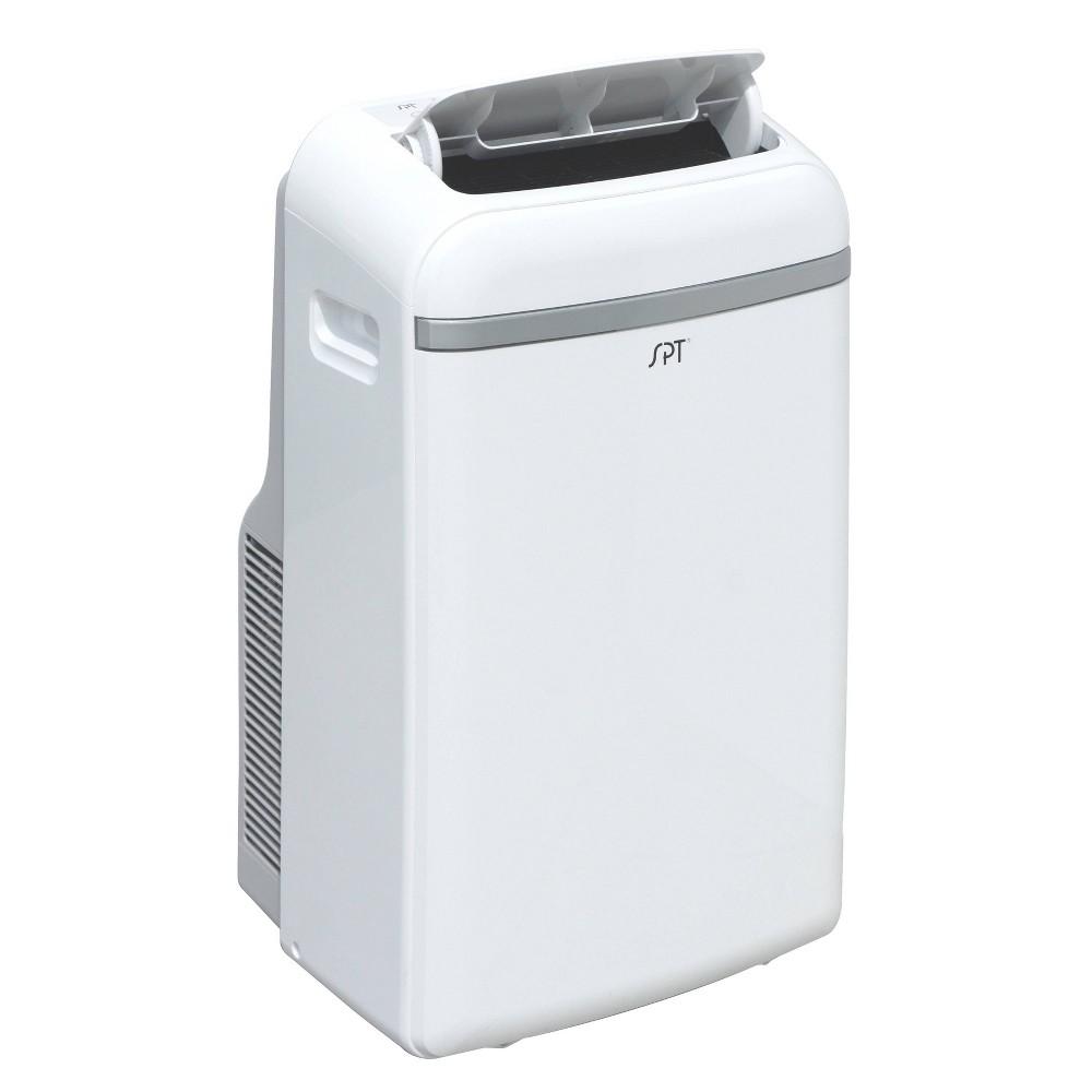 Sunpentown - 12000-Btu Portable Air Conditioner with Heater - White