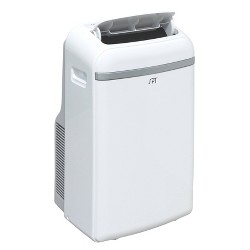 Sunpentown - 12000-BTU Portable Air Conditioner with Heater - White