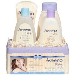 Aveeno Bath time gift set
