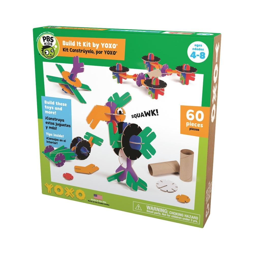 Yoxo 60 Piece Creative Building Pbs Kids Build It Kit