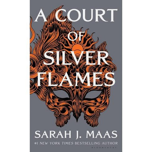 A Court of Silver Flames - (Court of Thorns and Roses) by  Sarah J Maas (Hardcover) - image 1 of 1