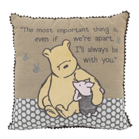 e5811620c3c9 Disney Throw Pillow - Winnie The Pooh - Brown   Target