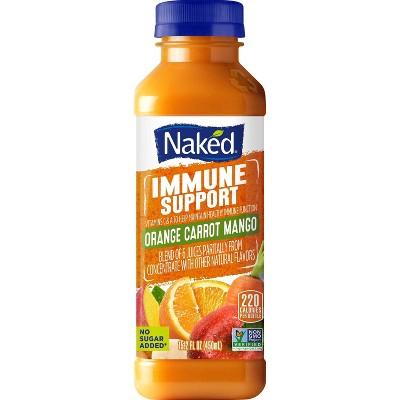 Naked Orange Carrot Vegan Juice Smoothie - 15.2oz