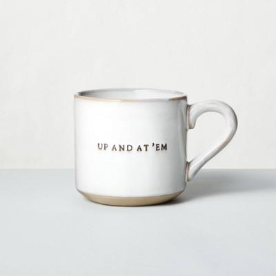 'Up And At 'Em' Stoneware Mug - Hearth & Hand™ with Magnolia