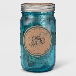 Modern Sprout Mason Jar Herb Kit - Basil
