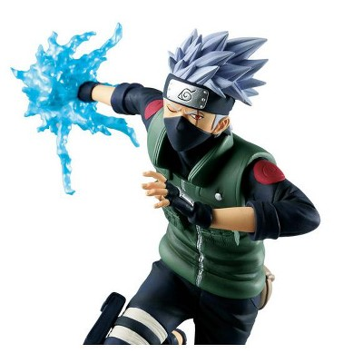 "Banpresto Naruto Shippuden Vibration Stars Hatake Kakashi 8"" Figure Statue"