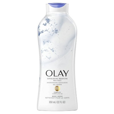 Olay Exfoliating Body Wash with Sea Salts - 22 fl oz
