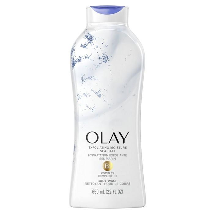 Olay Exfoliating Body Wash With Sea Salts - 22 Fl Oz : Target