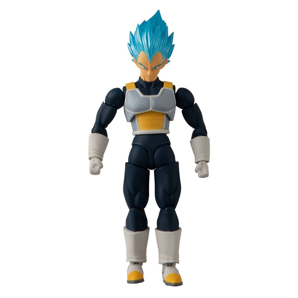"Image of ""Dragon Ball Super Super Saiyan Blue Vegeta 5"""" Action Figure"""