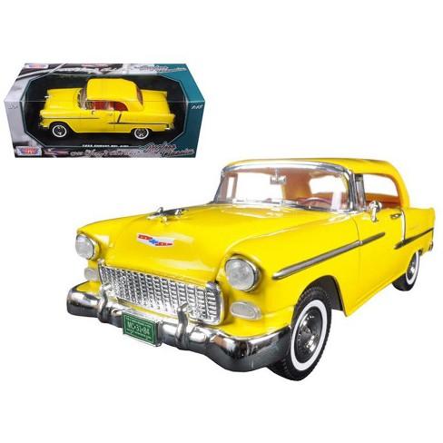 1955 Chevrolet Bel Air Convertible Soft Top Yellow Timeless