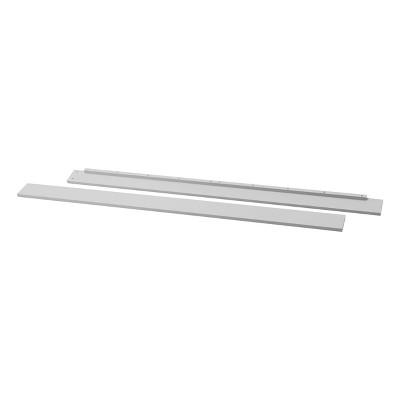 DaVinci Hidden Hardware Twin/Full Size Bed Conversion Kit (M5789) - Fog Gray